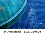 hotel resort swimming pool | Shutterstock . vector #1123219505