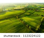 aerial view of endless lush... | Shutterstock . vector #1123224122