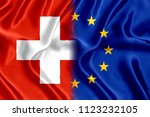 Flag of switzerland and the...