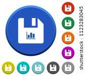 file statistics round color... | Shutterstock .eps vector #1123283045