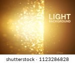 lights on yellow background... | Shutterstock .eps vector #1123286828