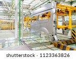 modern automobile production... | Shutterstock . vector #1123363826