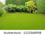 Artificial Lawn In Small Garde...