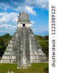 temple i  el gran jaguar one of ... | Shutterstock . vector #1123389125