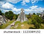 temple i  el gran jaguar one of ... | Shutterstock . vector #1123389152