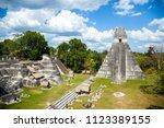 temple i  el gran jaguar one of ... | Shutterstock . vector #1123389155