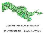 ecology uzbekistan map...   Shutterstock .eps vector #1123469498