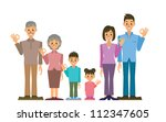 family | Shutterstock .eps vector #112347605