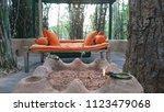 bandhavgarh  madhya pradesh ...   Shutterstock . vector #1123479068