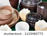 forms for baking in the shop | Shutterstock . vector #1123483772