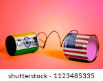 Tin Can Phone With Usa And...