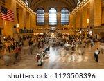 june 5  2018  new york  new... | Shutterstock . vector #1123508396