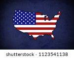 Usa Map Background
