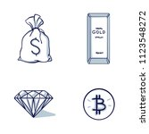 set of financial and money icon.... | Shutterstock .eps vector #1123548272
