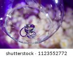 weddings rings matrimony | Shutterstock . vector #1123552772