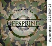 offspring written on a...   Shutterstock .eps vector #1123560428