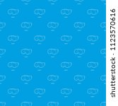 laboratory goggles pattern... | Shutterstock .eps vector #1123570616