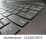 the keyboard picture | Shutterstock . vector #1123617875