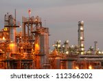 Glow Light Of Petrochemical...