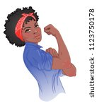 we can do it  design inspired... | Shutterstock .eps vector #1123750178