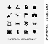 modern  simple vector icon set... | Shutterstock .eps vector #1123831265