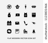 modern  simple vector icon set... | Shutterstock .eps vector #1123831466