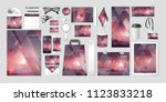 stock vector set kit collection ... | Shutterstock .eps vector #1123833218
