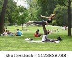 new york  usa   may 26  2018 ... | Shutterstock . vector #1123836788