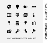 modern  simple vector icon set... | Shutterstock .eps vector #1123844198