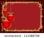 christmas and new year... | Shutterstock . vector #112388708