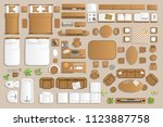 icons set of interior.... | Shutterstock .eps vector #1123887758