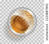 vector illustration. a glass...   Shutterstock .eps vector #1123887842