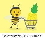 vector illustration character... | Shutterstock .eps vector #1123888655