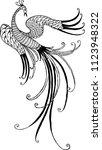 vector image of a fabulous... | Shutterstock .eps vector #1123948322
