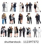 "collection "" back view of ... 