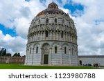 church in pisa | Shutterstock . vector #1123980788