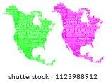 sketch north america letter...   Shutterstock .eps vector #1123988912
