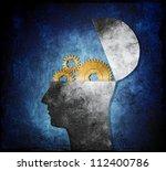 raster collage illustration of...   Shutterstock . vector #112400786