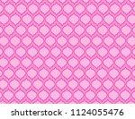 pink ornamental background | Shutterstock .eps vector #1124055476