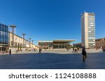 neubrandenburg  germany   apr 1 ... | Shutterstock . vector #1124108888