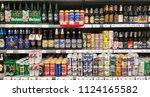 bangkok thailand   march 10 ...   Shutterstock . vector #1124165582