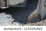 asphalt manufacturing equipment.... | Shutterstock . vector #1124192465