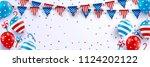 4th of july blackguards...   Shutterstock .eps vector #1124202122