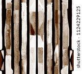 bauhaus pattern. dark brown...   Shutterstock . vector #1124229125