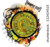 abstract vector cartoon grunge...   Shutterstock .eps vector #112424525