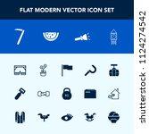 modern  simple vector icon set... | Shutterstock .eps vector #1124274542