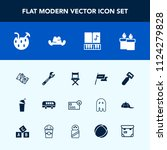 modern  simple vector icon set... | Shutterstock .eps vector #1124279828