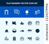 modern  simple vector icon set... | Shutterstock .eps vector #1124279996