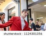 milan  italy   june 16 ... | Shutterstock . vector #1124301356
