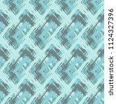 grunge textured rhombs... | Shutterstock .eps vector #1124327396